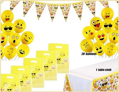 Palloncini emoji lattice