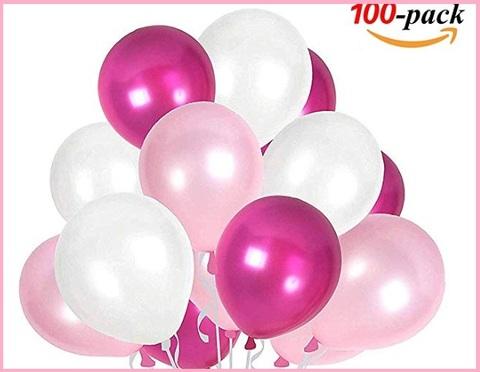 Palloncini fucsia compleanno
