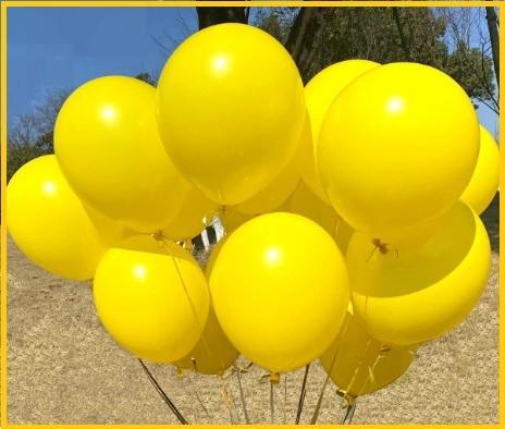 Palloncini gialli compleanno