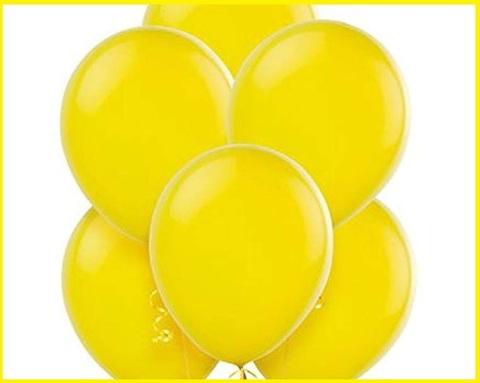 Palloncini gialli 100