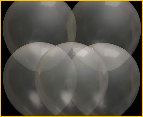 Palloncini giganti trasparenti