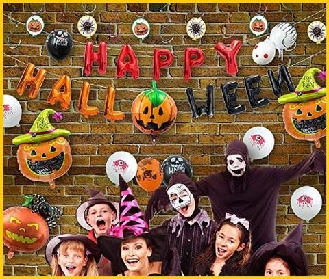 Palloncini halloween addobbi decorazioni