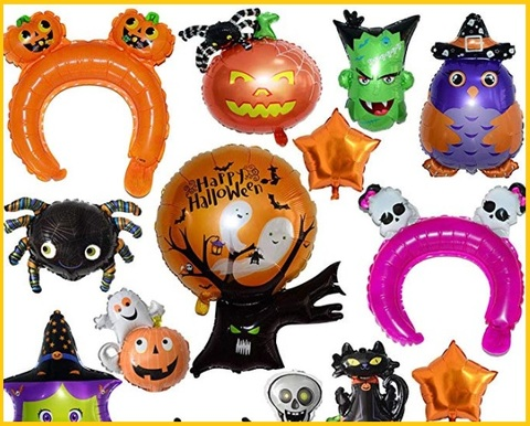 Palloncini halloween per feste