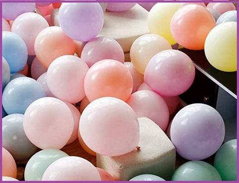 Palloncini lilla pastello