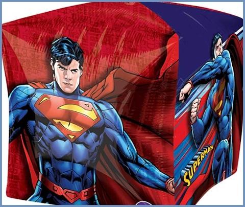 Palloncino quadrato superman