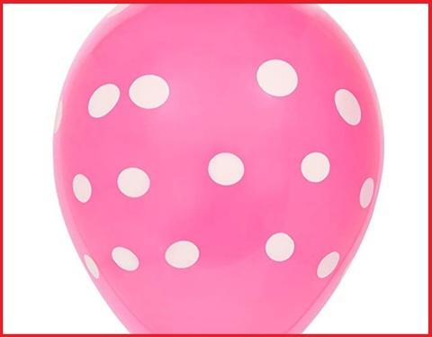 Palloncino rosa pois