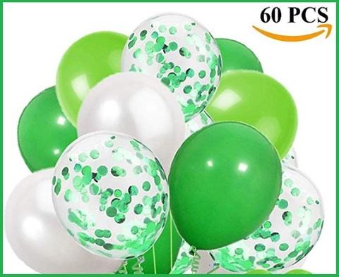 Palloncini verdi compleanno