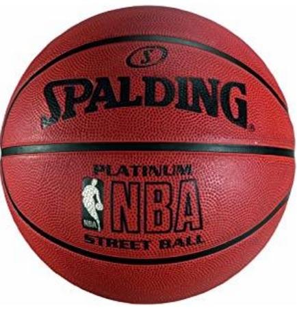 Spalding nba, platinum pallone basket