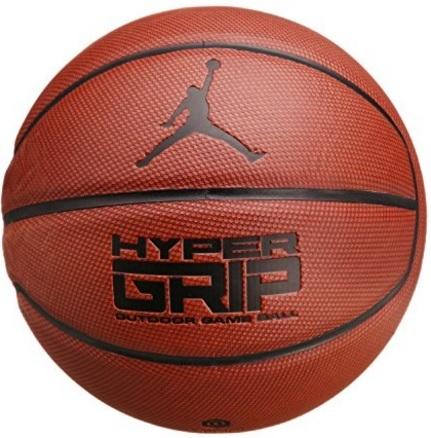 Palloni basket jordan, baskset hyper grip jordan dark amber
