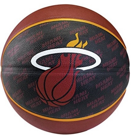 Pallone Miami, Heat Spalding Nero