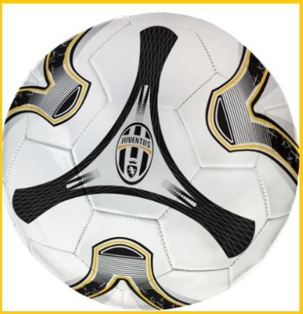 Pallone cuoio ufficiale della squadra di calcio juventus