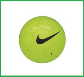 Pallone da calcio della nike verde training