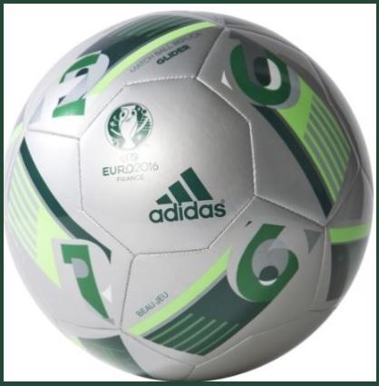 Pallone adidas euro2016 verde