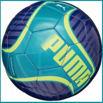 Pallone con sponsor ufficiale puma doppio colore