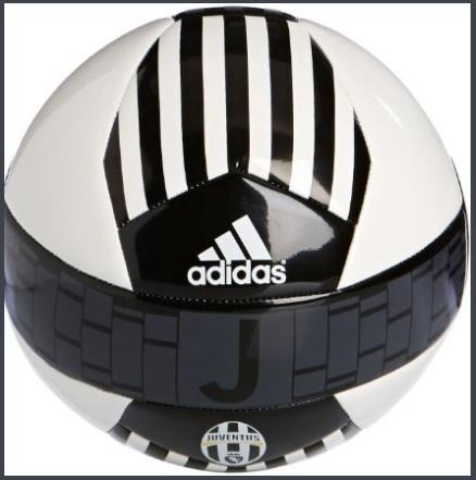 Pallone ufficiale e unico della juve con sponsor adidas