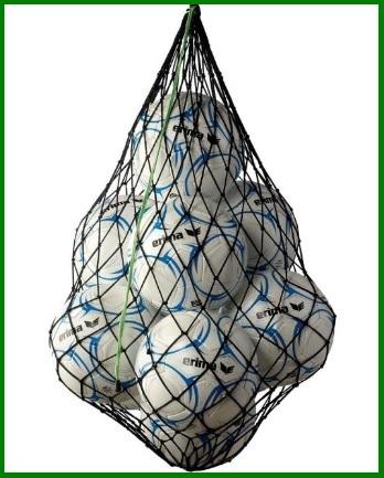 Rete grande per palloni da calcio taglia unica