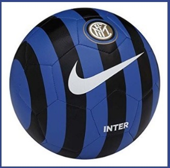 Pallone originale a righe dell'inter