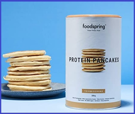 Pancake proteici pronti da mangiare