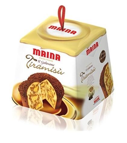 Panettone Classico E Ricoperto Di Cioccolato Al Tiramisu Mai