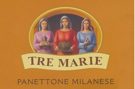 Panettone Tradizionale Tre Marie Milanese