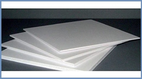 Pannelli coibentati isolanti bianchi