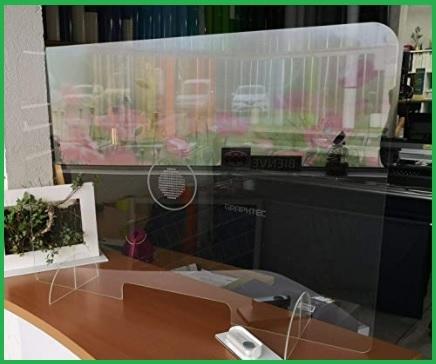 Pannelli trasparenti con base