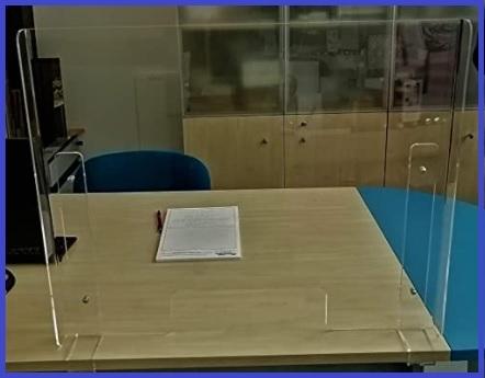 Pannelli protettivi plexiglass