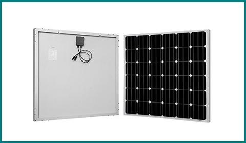 Pannello Solare, Monocristallino Efficiente