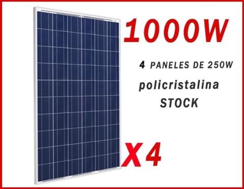 Pannello Solare, Polycrystalline 1000 W