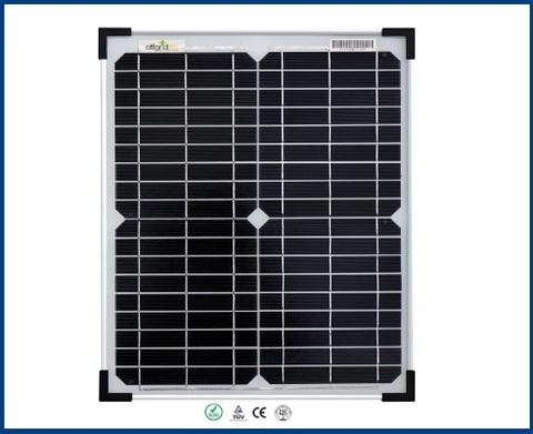 Pannello Solare Con Tensione Di Funzionamento