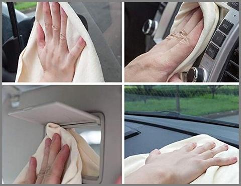 Panno In Pelle Per Auto Daino