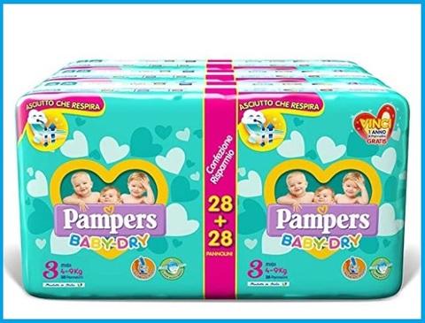 Pannolini taglia 3 baby dry