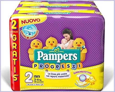 Pannolini pampers progressi 2