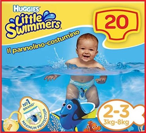 Pannolini per piscina neonati