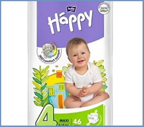 Pannolini Happy Bella Baby