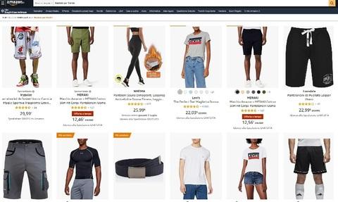 Siti per comprare pantaloncini per uomo e donna