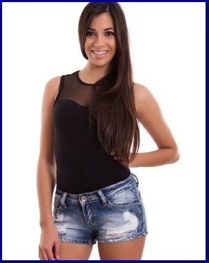Pantaloncini Corti E Skinny Per Donna In Jeans