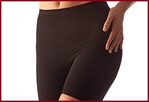 Pantaloncini anticellulite massaggianti donna