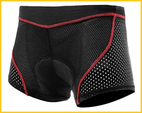 Pantaloncini ciclismo uomo gel