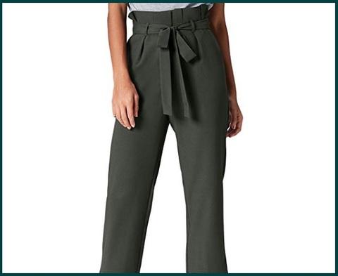 Pantaloni donna vita alta