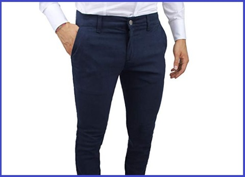 Pantaloni slim fit uomo