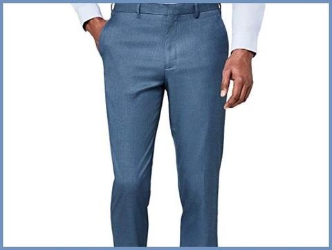 Pantaloni Slim Fit Casual Uomo