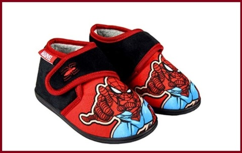 Pantofole bambino spiderman