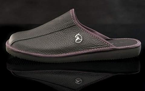 Pantofole ospiti nere