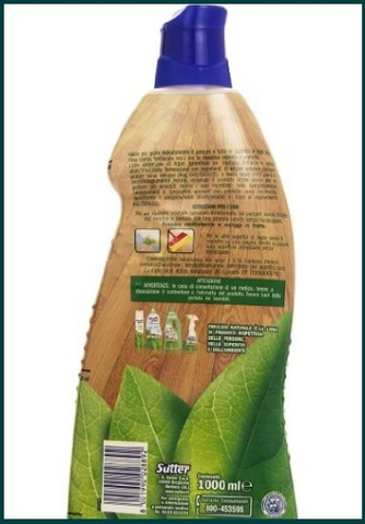 Detergente Naturale Per Parquet