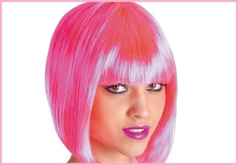 Parrucche colorate donna
