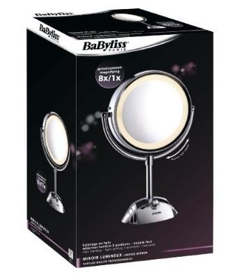 Specchio girevole e con ingrandimento per parrucchieri