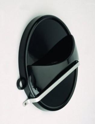 Specchio a mano con supporto parrucchieri