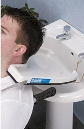 Vassoio portatile per lavandino per parrucchieri