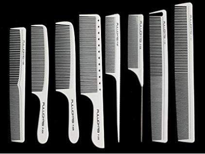 Pettini per parrucchieri in carbonio